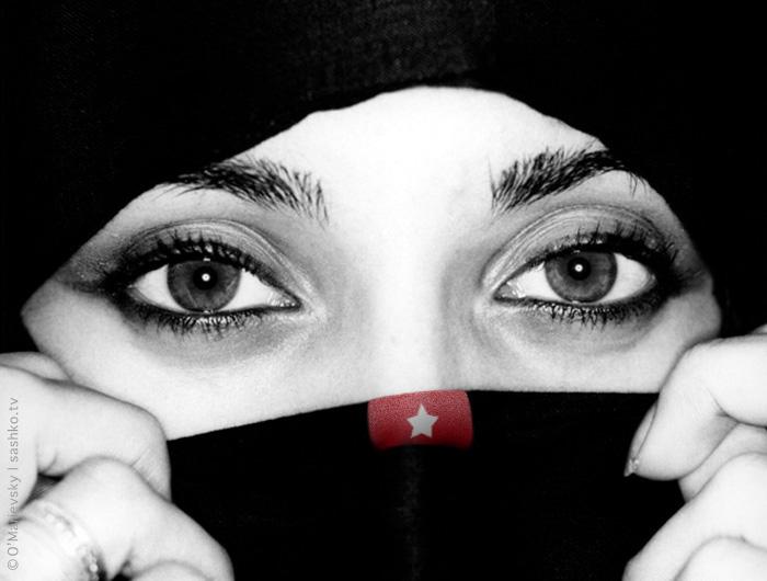 Porn or Art? Muslim Woman's Bra Photo Too Sexy? HD зрел женщина порн